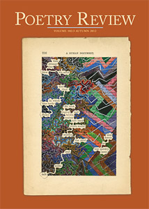Cover of Poetry Review