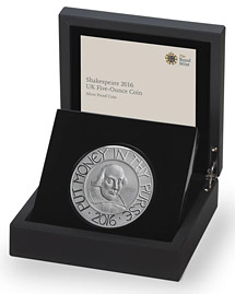 Coin in presentation box